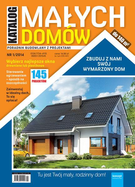 Katalog Małych Domów - półrocznik - prenumerata kwartalna już od 8,90 zł
